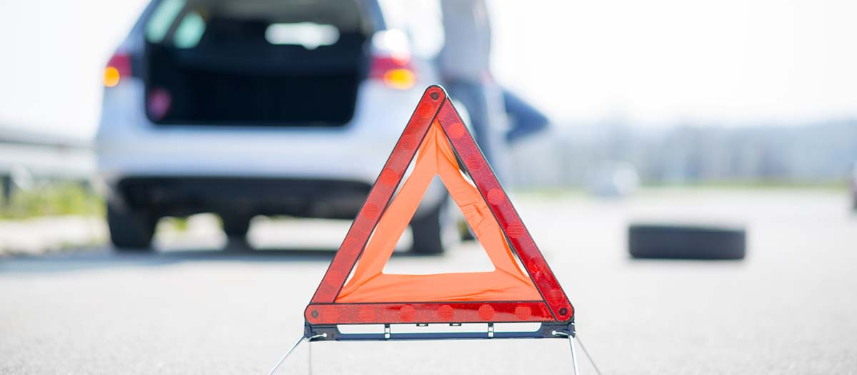 red warning triange