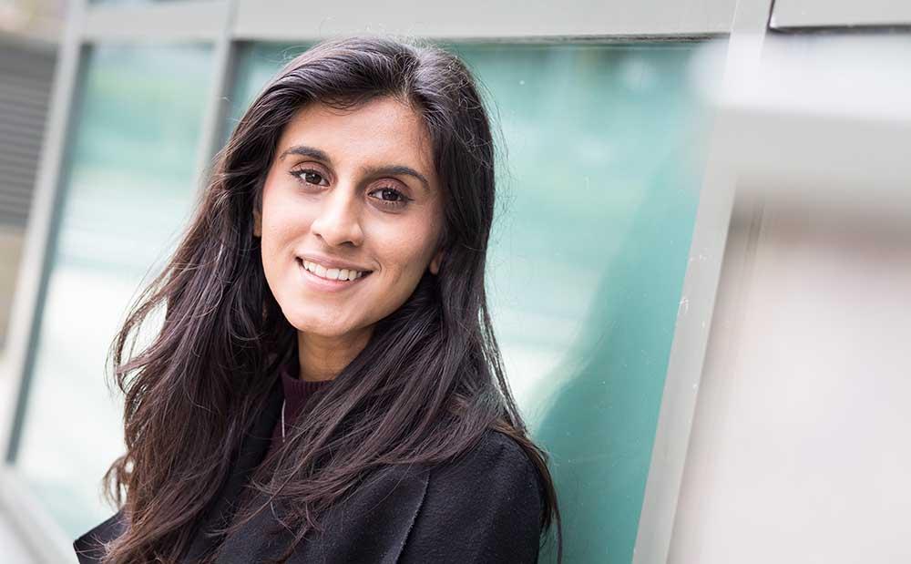 Hana Kapadia, winner of Future Legal Mind 2017
