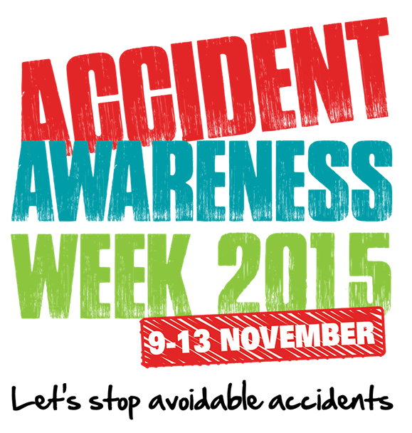 Accident awareness week logo