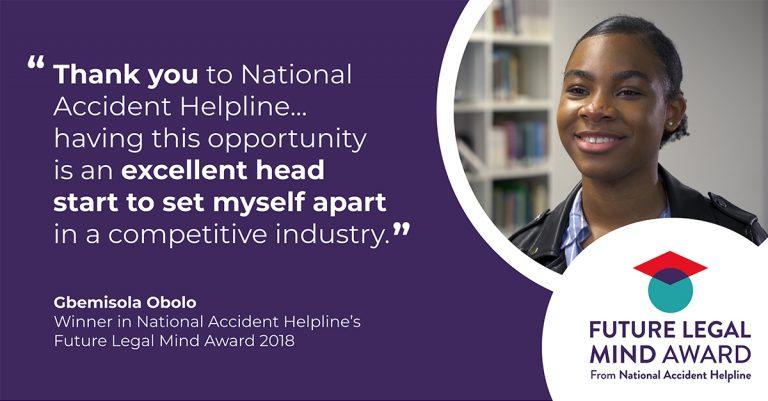 Last year's winner, Gbemisola Obolo