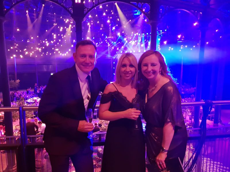 Marcus, Jodie & Fiona at the awards