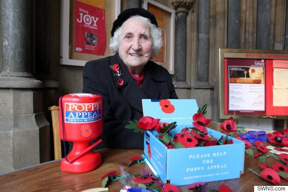 Olive Cooke Poppy Appeal