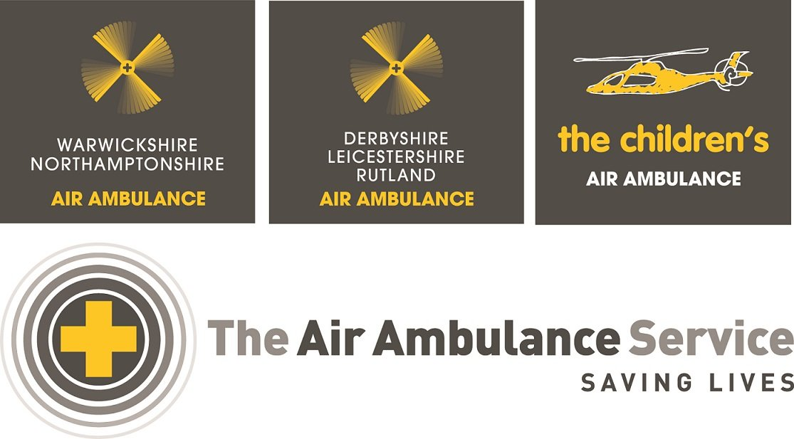 The air ambulance service infographic